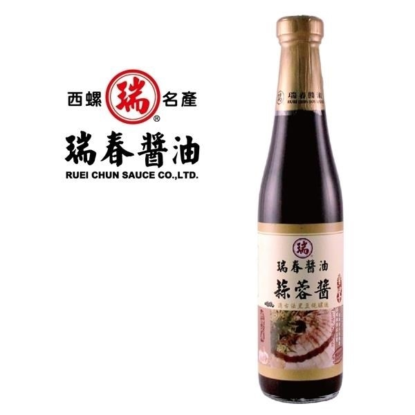【南紡購物中心】瑞春.蒜蓉醬油膏(十二瓶入/箱)