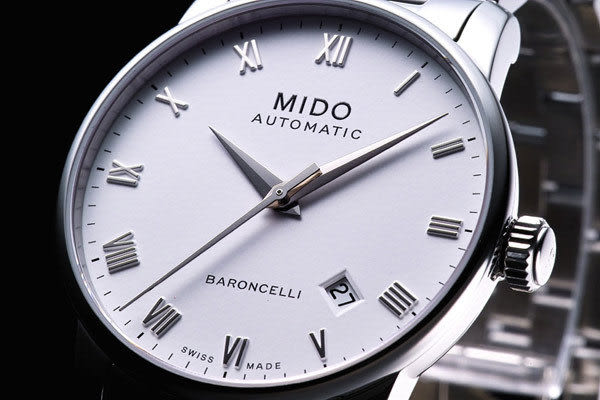 MIDO Baroncelli 經典男用機械腕錶M86004261白羅