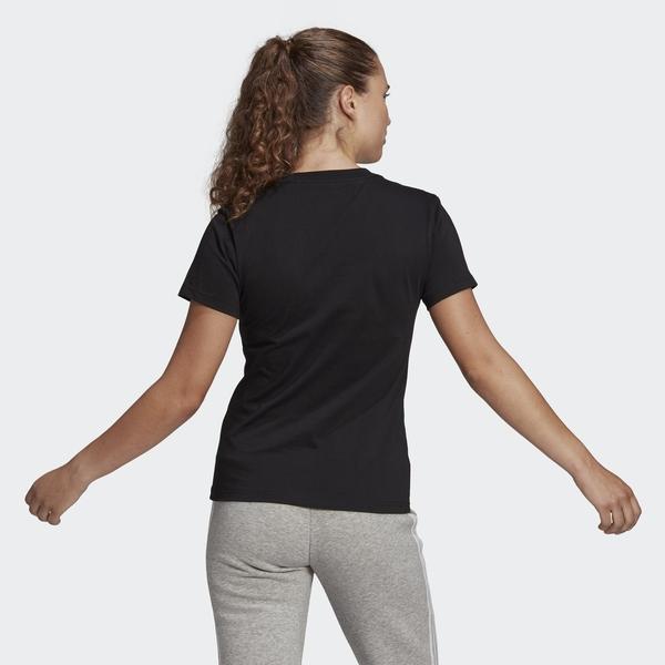 Adidas Essentials 女款 黑色 CORE/NEO 訓練 跑步 短袖上衣 GL0722 【KAORACER】