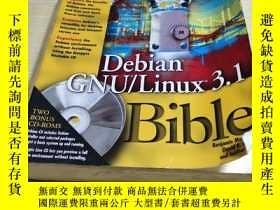二手書博民逛書店Debian罕見GNU LInux3.1Y281204