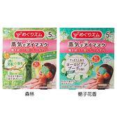 花王蒸氣感溫熱眼罩(限定版)5枚入 森林/梔子花香 2款可選【小三美日】