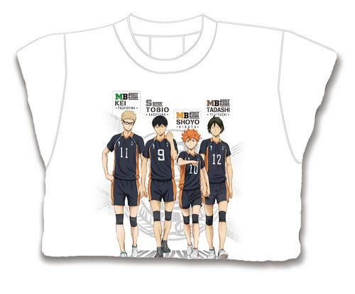 排球少年SS-T恤(1)-M