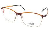 SILHOUETTE 詩樂 光學眼鏡 ST1575 6058 (琥珀-金) 奧地利超輕量工藝款 # 金橘眼鏡