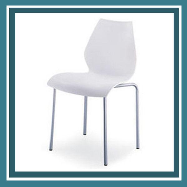 【必購網OA辦公傢俱】 ML-502 洽談椅 活動椅 白色