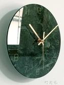 ins風裝飾畫創意掛鐘藝術掛畫鐘表客廳壁畫餐廳臥室北歐風格輕奢 交換禮物