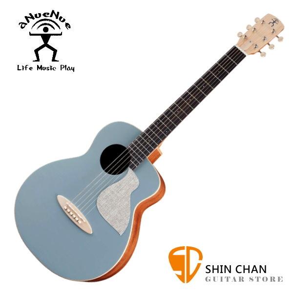 aNueNue MC10-BA 鳥吉他 阿羅納藍 36吋小吉他 雲杉面單板/桃花心木側背板 附多樣配件