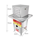 新款商用煤氣腸粉機抽屜式防干燒套裝腸粉機腸粉蒸盤蒸爐兩抽一份CY『新佰數位屋』