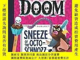 二手書博民逛書店毀滅筆記罕見The Notebook of Doom Sneez