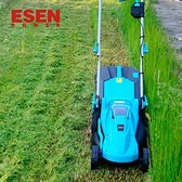 ESEN充電式手推電動割草機電動家用除草機鋰電草坪割草機剪草機 JD 美物 618狂歡