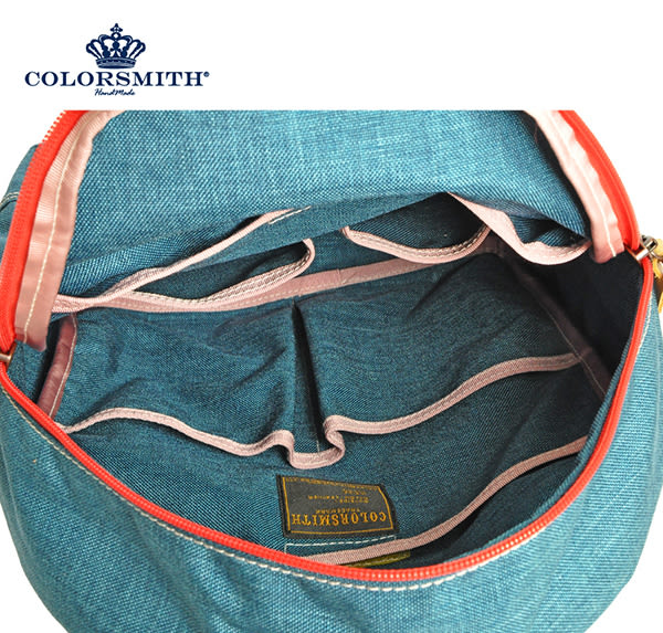 【COLORSMITH】UOC・基本戶外後背包-藍色・UOC1362-BL