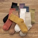 秋冬季加厚毛圈襪保暖加絨襪子女中筒襪冬天月子毛巾襪
