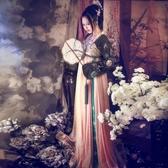 黑如意改良漢服女襦裙古裝中國風古裝服裝仙女清新淡雅公主古裝女