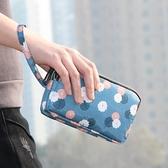 手包女小包手拿零錢包長款布藝三層拉錬包買菜大容量手袋 黛尼時尚精品