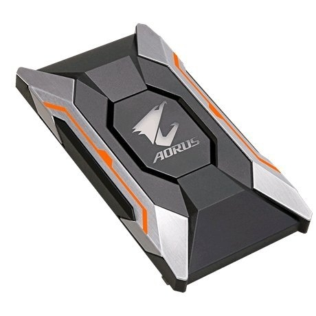 技嘉 AORUS SLI HB bridge RGB (80mm 2 slot spacing) 10系列專用 (GC-A2WAYSLIL RGB 橋接器)【刷卡含稅價】