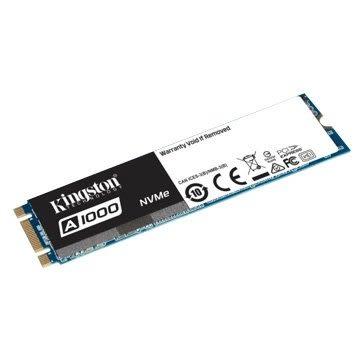 Kingston 金士頓 A1000 480GB M.2 PCIe 3DTLC SSD5年