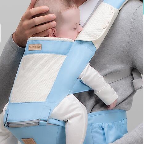 嬰兒背帶??嬰兒背帶腰凳抱抱托多功能四季通用新生兒童寶寶小孩抱娃神器