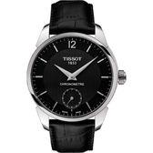 TISSOT T-Classic COSC天文台認證小秒針機械腕錶T0704061605700