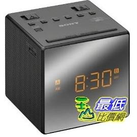 [2美國直購] Sony 黑色鬧鐘 ICF-C1 Alarm Clock Radio, Black ICFC1 BLACK 鬧鐘