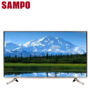 SAMPO聲寶 49吋 4K LED液晶顯示器+視訊盒(EM-49ZK21D)