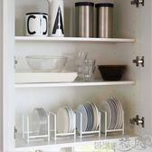 日本日式簡約清新廚房盤子餐盤餐具碟子碗碟瀝水收納架整理置物架 igo