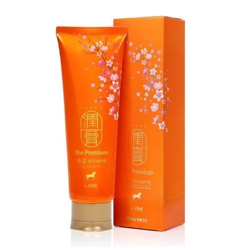 ✿ 梨花跑跑妞 ✿ 韓國👋即期商品👋 LG 馬油潤膏蠶絲蛋白洗護合一洗髮乳