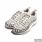 NIKE 女 W AIR MAX 97 SE 休閒鞋 奶茶色 豹紋 反光 麂皮 氣墊 - CW5595001