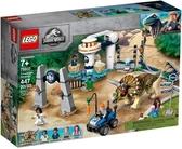 【LEGO樂高】侏儸紀世界系列-JURASSIC WORLD  三角龍發怒# 75937