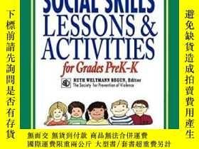 二手書博民逛書店Ready-to-use罕見Social Skills Lessons And Activities For Gr