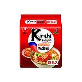 韓國 農心 韓國泡菜味拉麵 4入(整袋裝) 辣白菜【小三美日】