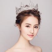 皇冠-意卡佐新娘頭飾結婚巴洛克大婚紗禮服配飾品圓形  【快速出貨】