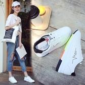 休閒鞋小白鞋潮韓版時尚板鞋厚底學生運動鞋