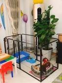 寵物圍欄柵欄小中大型犬狗狗圍欄室內隔離泰迪金毛狗籠 『洛小仙女鞋』YJT