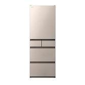 限區含配送+基本安裝*HITACHI 日立 日本原裝 節能一級 新髮絲紋鋼板 五門冰箱 RHS49NJ