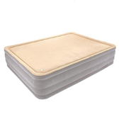 【DZ130】充氣記憶床墊-雙人加大加厚(免運) 柔軟記憶海綿充氣床 內置充氣泵110V 氣墊床 EZGO商城