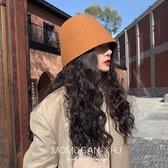 盆帽羊毛呢漁夫帽女秋冬英倫復古鐘型盆帽百搭遮臉網紅款帽子水桶帽潮促銷好物