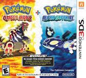 3DS Pokemon Omega Ruby and Pokemon Alpha Sapphire Dual Pack 神奇寶貝 紅寶石 +藍寶石 (美版代購)