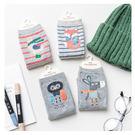 襪子 保暖寶寶中筒童襪4雙禮盒組- 時尚