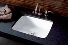 【麗室衛浴】德國 KERAMAG  Plan系列 50 x 38 cm 下崁臉盆 242150