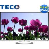 結帳現折★TECO 東元 TL5026TRE 50吋 FHD LED液晶顯示器+視訊盒