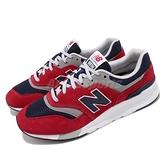 New Balance 休閒鞋 NB 997H 紅 深藍 男鞋 運動鞋 【ACS】 CM997HBJD