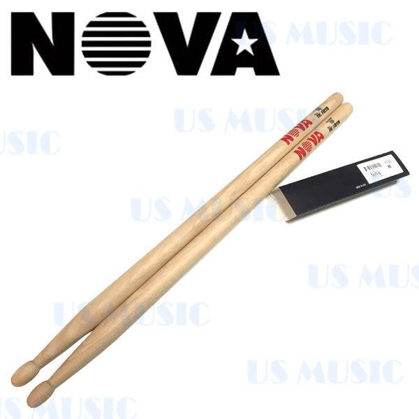 【非凡樂器】NOVA 爵士鼓棒 5B / 木色 Vic Firth副廠