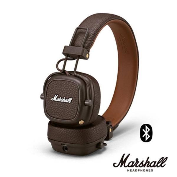【南紡購物中心】Marshall MAJOR IIIBLUETOOTH 無線藍牙耳罩式耳|咖啡棕