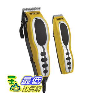 [104美國直購] Wahl 79520-3101 Groom Pro Haircutting Kit, Yellow/black, 22 Count 理髮工具22件套