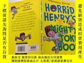 二手書博民逛書店horrid罕見henry s mighty joke book : 可怕的亨利的大笑話書Y212829