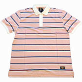 DICKIES WDT19131 Stripe Polo Shirt 印花橫條 POLO衫 粉