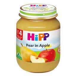 HiPP喜寶 有機蘋果西洋梨泥125g