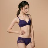 【曼黛瑪璉】保氧無鋼圈內衣  B-E罩杯(迷幻紫)