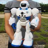 遙控智能編程機器人機械戰警講故事男女孩早教充電動兒童玩具禮物-Ifashion YTL