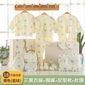 純棉嬰兒衣服春秋冬季新生兒禮盒套裝0-3個月6初生剛出生寶寶用品WD 晴天時尚館