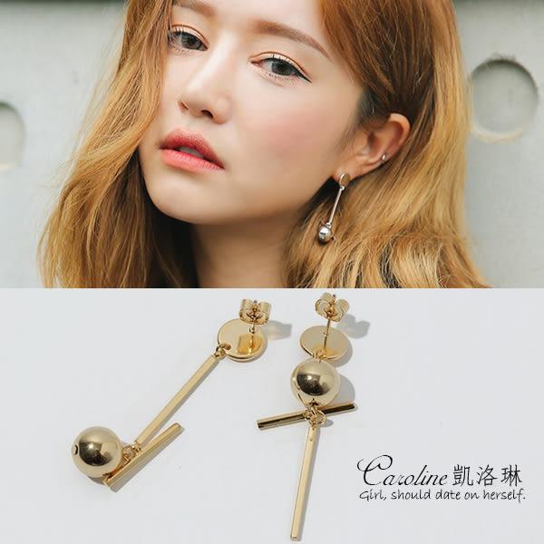 《Caroline》★韓國官網熱賣 優雅浪漫風格時尚流行耳環68834